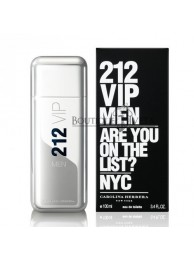 "Carolina Herrera 212 Men ""Are you on the list?"" EDT NYC 100ml"