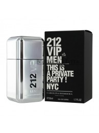 "Carolina Herrera 212 Men ""This is a private party!"" EDT NYC 50ml"